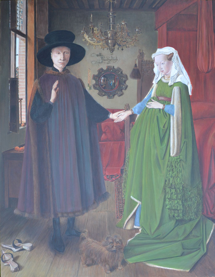 The Arnolfini Portrait 1434, Jan van Eyck